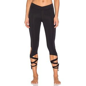 New Free People Turnout Leggings in Black